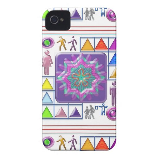 FUNNY Color Cartoons PURPLE Show :lowprice GIFTS iPhone 4 Case