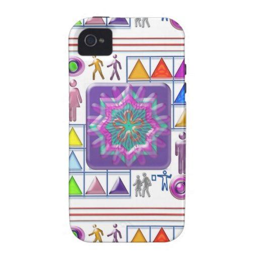 FUNNY Color Cartoons PURPLE Show :lowprice GIFTS iPhone 4/4S Case
