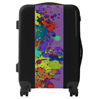 FUNNY COLOR SPLASHes I + your backgr. & ideas Luggage