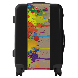 FUNNY COLOR SPLASHes II + your backgr. & ideas Luggage