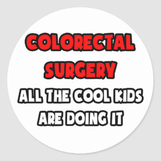 Funny Colorectal Surgeon Shirts and Gifts Stickers