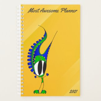 Funny, Colorful, Cute, Cartoon | Add Your Message Planner