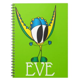 Funny, Colorful, Cute, Cartoon | Add Your Name Not Notebook