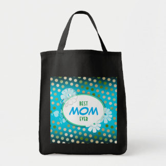 Funny Colorful Polka Dots for Mother's Day Tote Bag