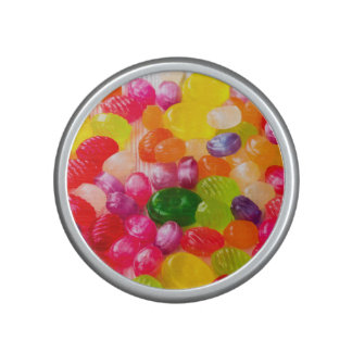 Funny Colorful Sweet Candies Food Lollipop Photo Bluetooth Speaker