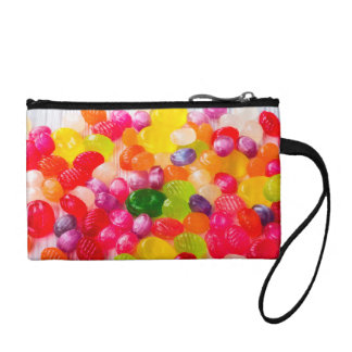 Funny Colorful Sweet Candies Food Lollipop Photo Change Purse