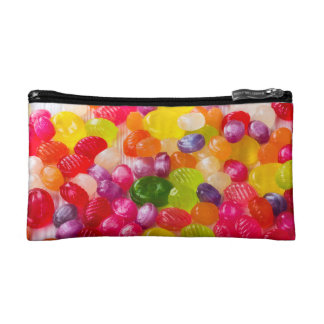 Funny Colorful Sweet Candies Food Lollipop Photo Cosmetic Bag