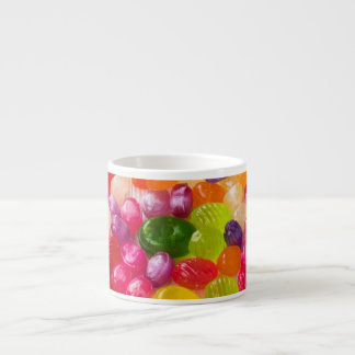 Funny Colorful Sweet Candies Food Lollipop Photo Espresso Cup