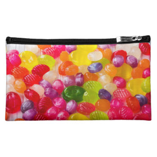 Funny Colorful Sweet Candies Food Lollipop Photo Makeup Bag