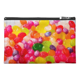 Funny Colorful Sweet Candies Food Lollipop Photo Travel Accessories Bags