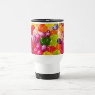 Funny Colorful Sweet Candies Food Lollipop Photo Travel Mug