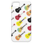Funny Colorful Ukulele Patterns iPhone 5 Case