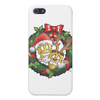 Funny Comedy & Tragedy Christmas Masks iPhone SE/5/5s Cover