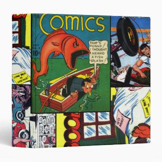 Funny Comic Books 3 Ring Binder