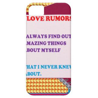 FUNNY COMIC COMEDY QUOTE WISDOM RUMORS FUN iPhone SE/5/5s CASE