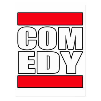 funny Comic Comedy stand up Comedian Postcard
