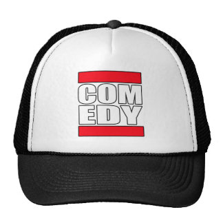 funny Comic Comedy stand up Comedian Trucker Hat