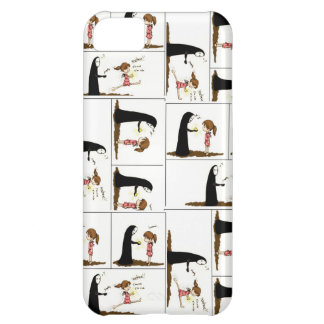 Funny comic iphone cover case for iPhone 5C