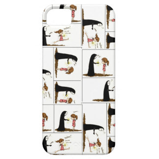 Funny comic iphone cover iPhone 5 cases