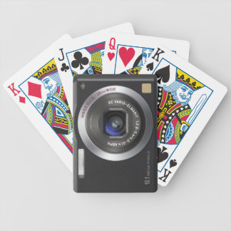 Funny Compact Digital Camera Bicycle Playing Cards