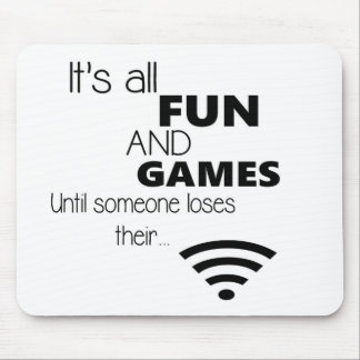 Funny Computer Internet Quote Mousepads