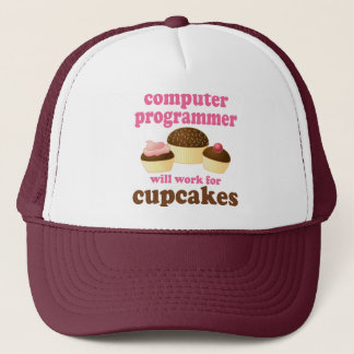 Funny Computer Programmer Trucker Hat
