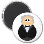 Funny Conductor Refrigerator Magnets