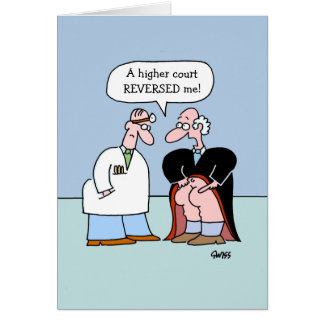 Funny Congratulations Greeting Card Law