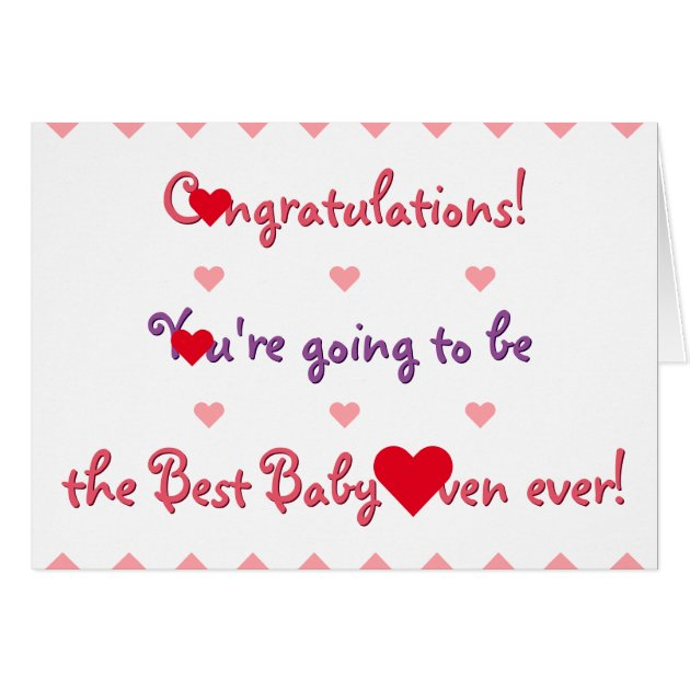 Captivating Funny Congratulations Mom To Be Baby Shower Card | Zazzle.com