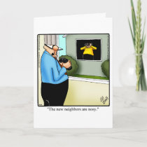 Funny Congratulations New Home Greeting Card
