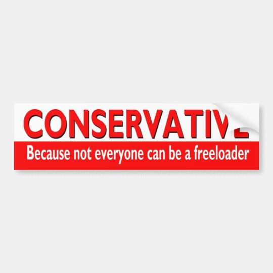 Republican Bumper Stickers Funny CONSERVATIVE Bum...