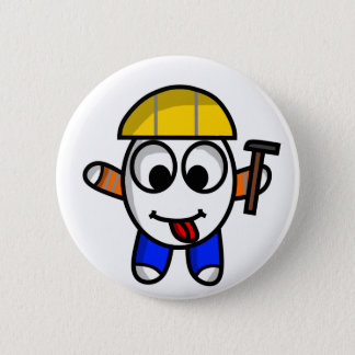 funny constructive dude button