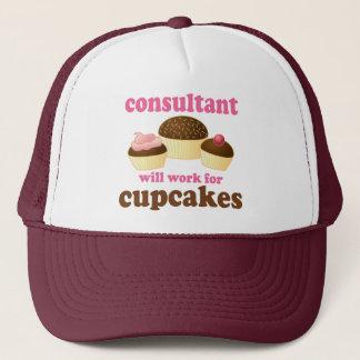 Funny Consultant Trucker Hat