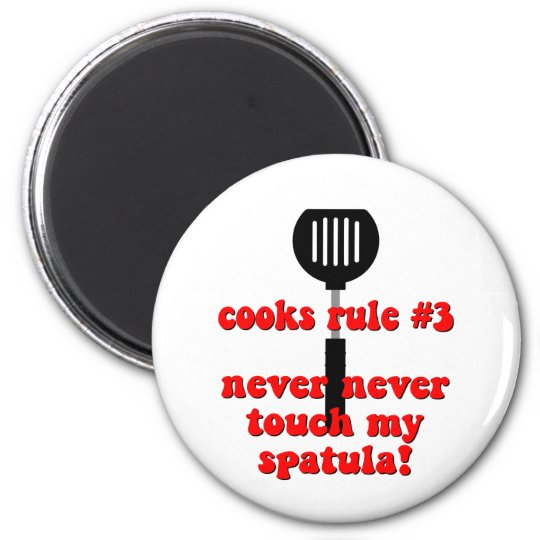 Funny cook magnet
