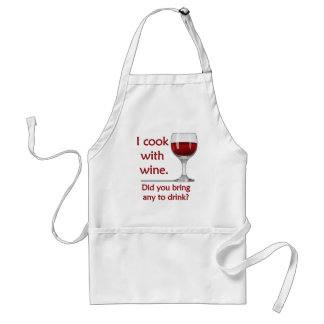 Funny Cook with Wine Apron
