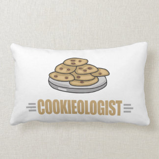 Funny Cookie Lover Lumbar Pillow