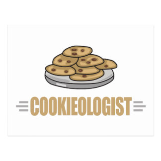 Funny Cookie Lover Postcard
