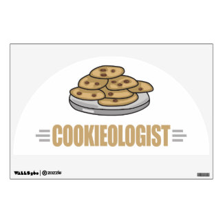 Funny Cookie Lover Wall Decal