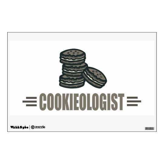 Funny Cookie Wall Decal