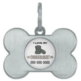 Funny Cookies Pet ID Tags