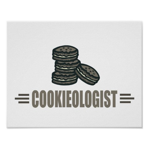 Funny Cookies Poster