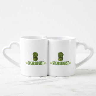 Funny Cooking Asparagus Coffee Mug Set