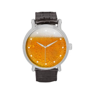 "Funny Cool ""Beer"" Watch"