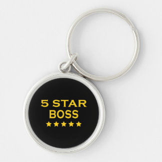 Funny Cool Bosses : Five Star Boss Keychains
