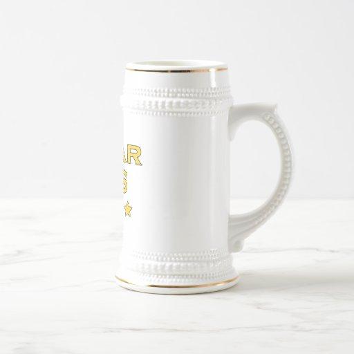 Funny Cool Bosses : Five Star Boss Coffee Mug