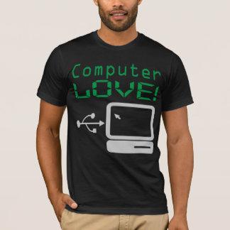 Funny Cool Computer LOVE! Custom Remix Geek Shirt