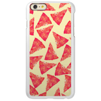 Funny Cool Funky Pizza Pattern Incipio Feather® Shine iPhone 6 Plus Case
