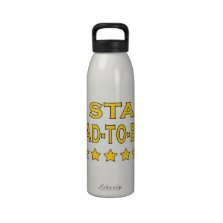 Funny Cool Gifts : Five Star Dad to Be Drinking Bottle