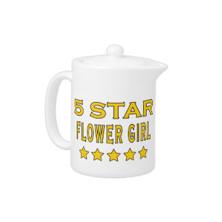 Funny Cool Gifts Five Star Flower Girl