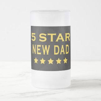 Funny Cool Gifts : Five Star New Dad Mug